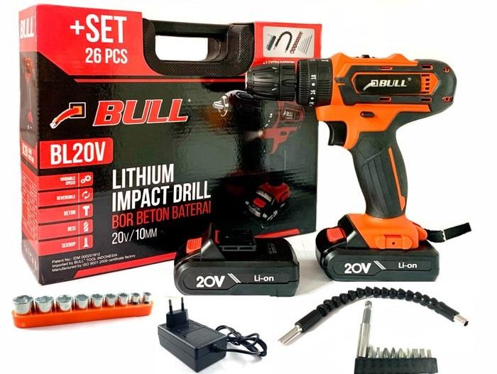 Bor Beton Baterai /impact cordless drill